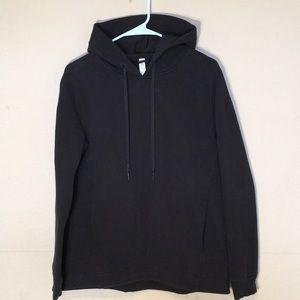 Lululemon hoodie pullover in black Sz 6